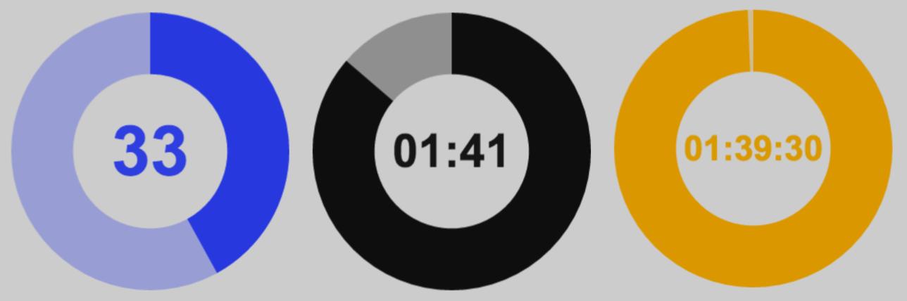 pughpugh/react-countdown-clock HTML5 canvas countdown clock React